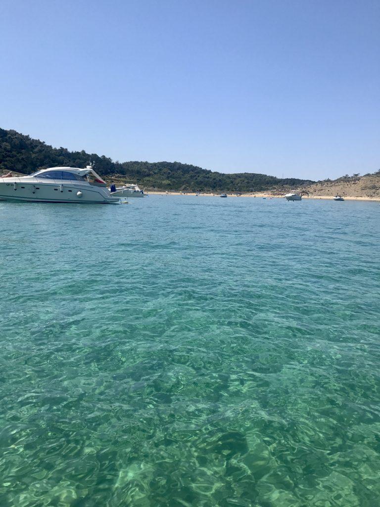 Bucht Insel Rab Kroatien