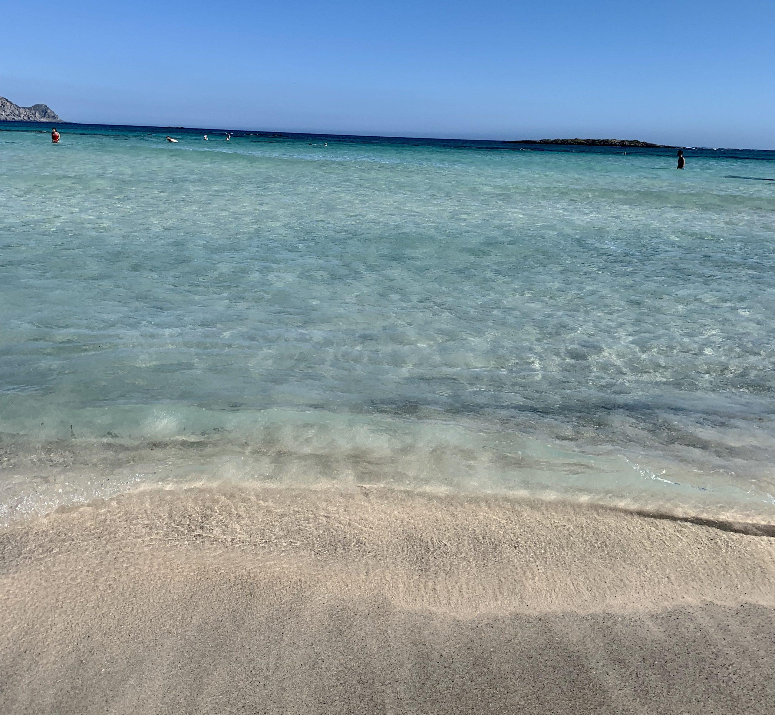 karibik strand elafonisi kreta