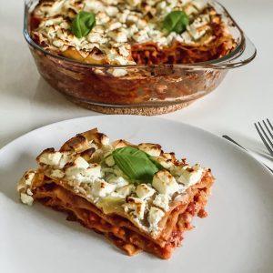 vegetarische linsen lasagne rezept