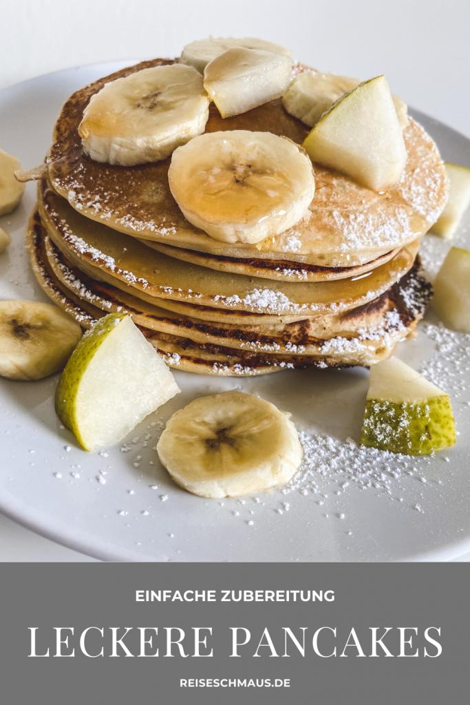 Fluffige Pancakes Rezept Pin