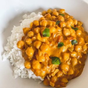 Kichererbsen Curry
