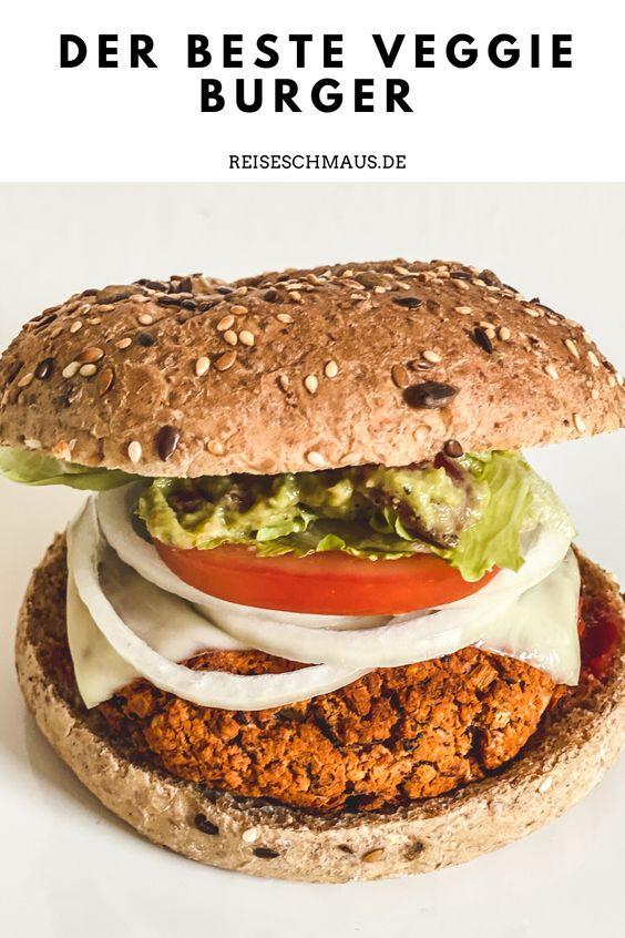 Veggie Burger selber machen Rezept Pin