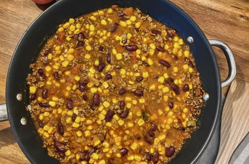 chili con carne mit rinderhack