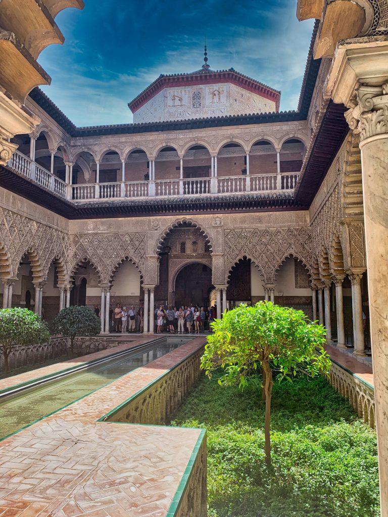 Sehenswürdigkeiten in Sevilla: Der Alcazar