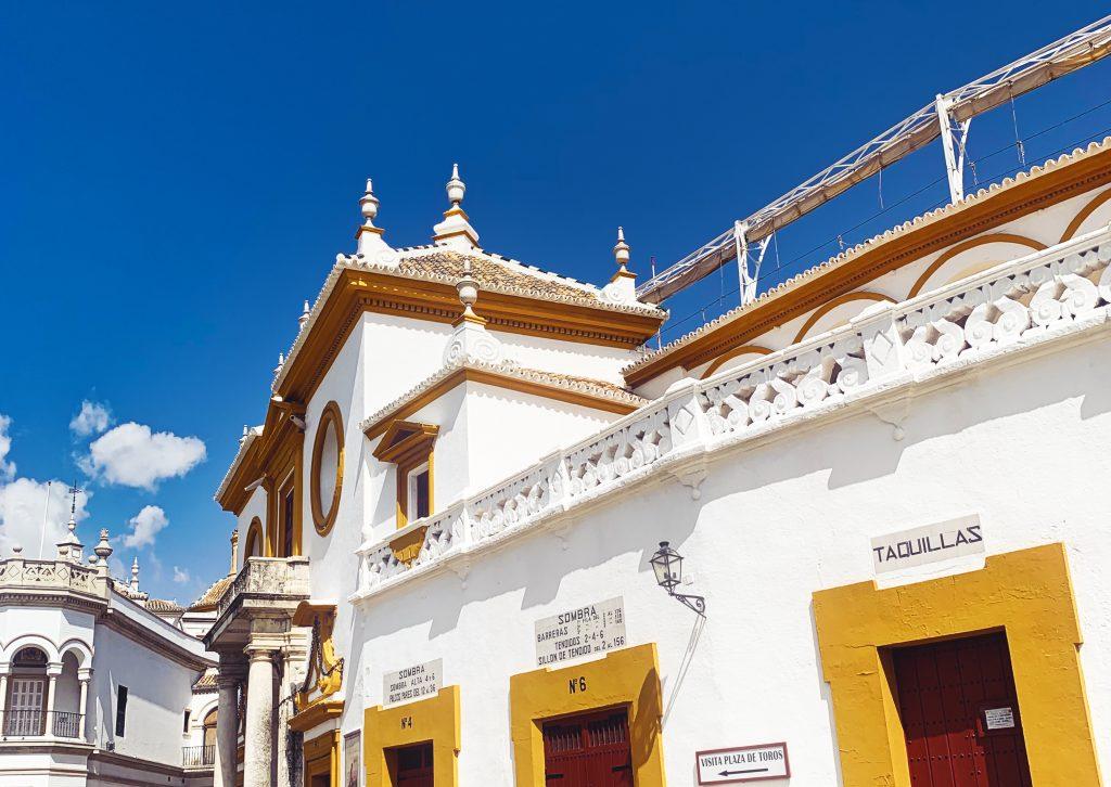 Plaza de Toros: Die Stierkampfarena in Sevilla