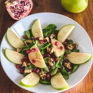 Salat mit Granatapfel
