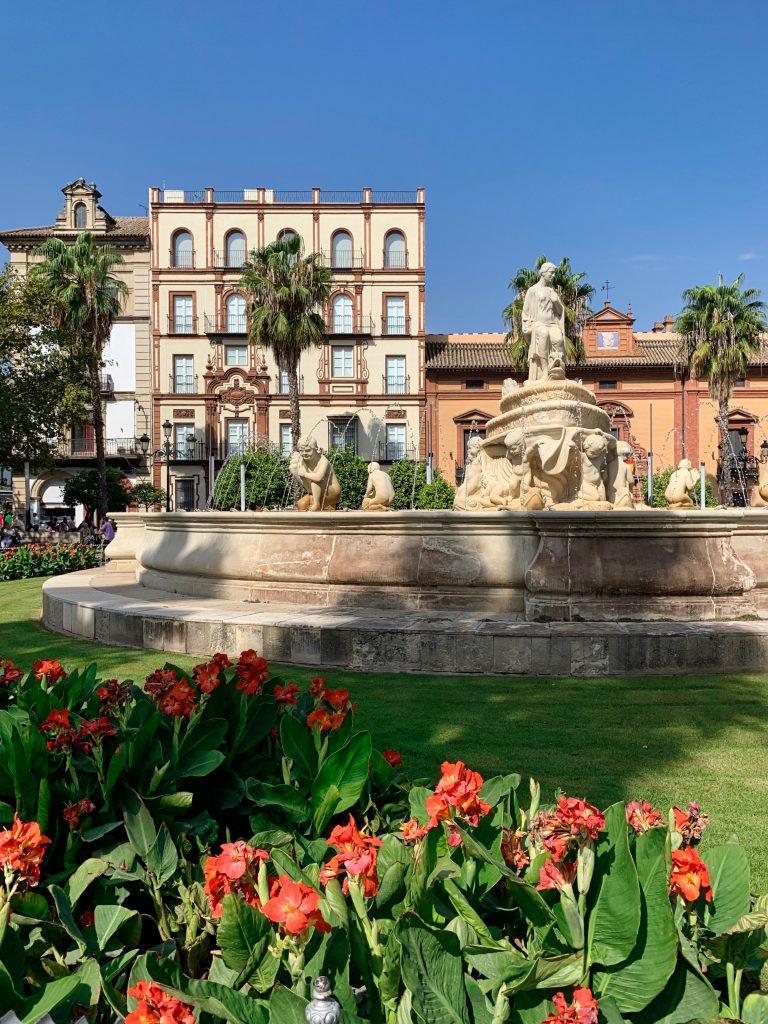 Stadtviertel Santa Cruz Sevilla