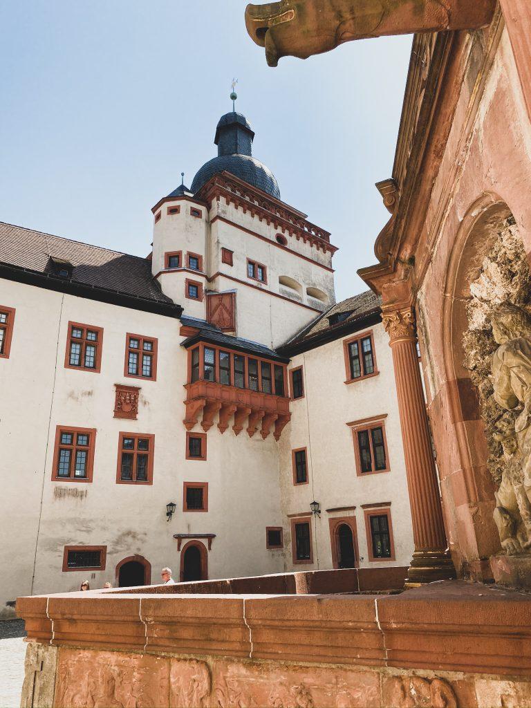 Festung Marienberg Innenhof