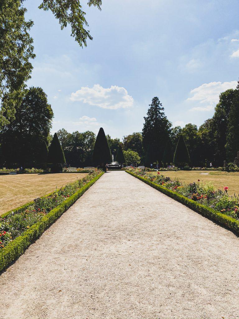 Hofgarten Würzburg Residenz