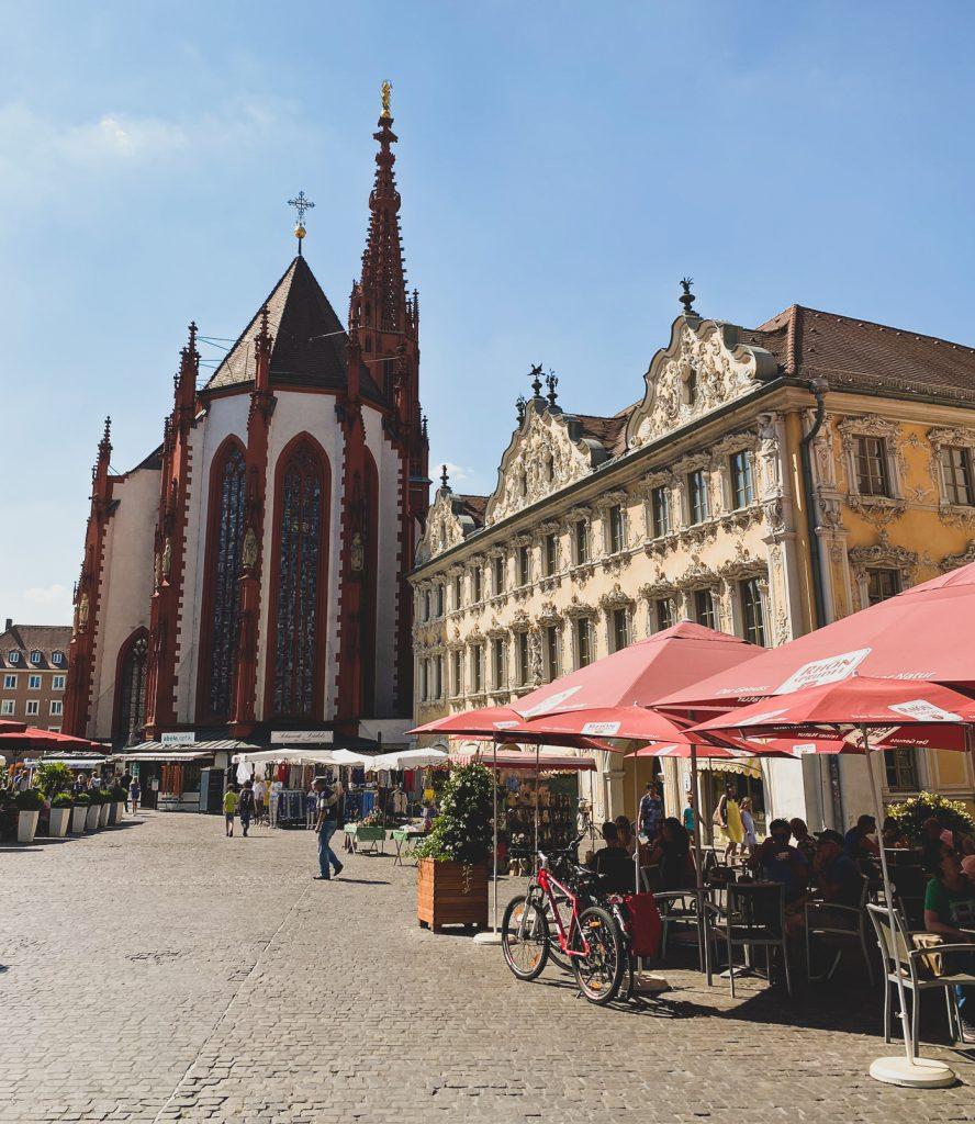 Marienkapelle auf dem Marktplatz von Würzburg