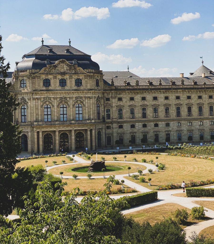 Würzburg Residenz Hofgarten