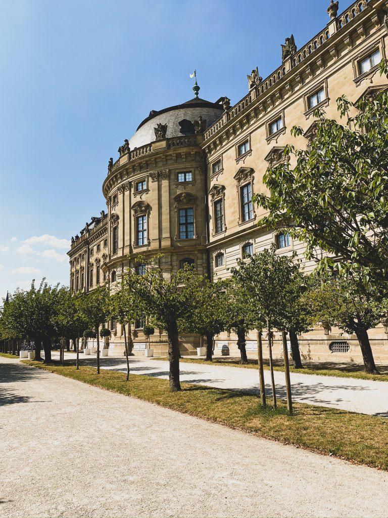 Würzburg Residenz außen