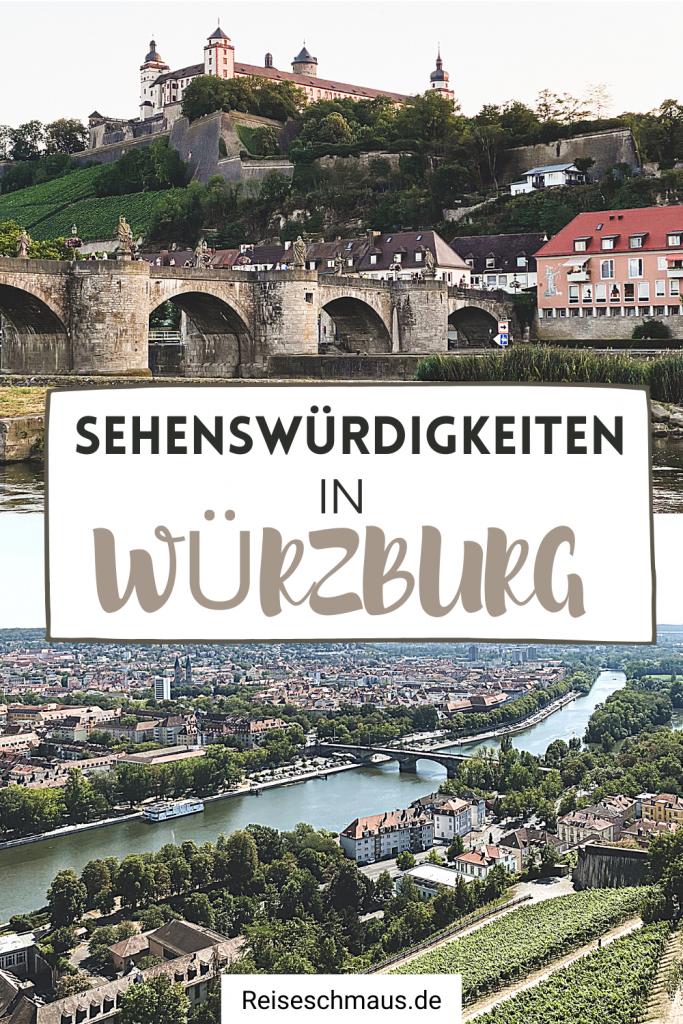 Würzburg Sehenswürdigkeiten Pin