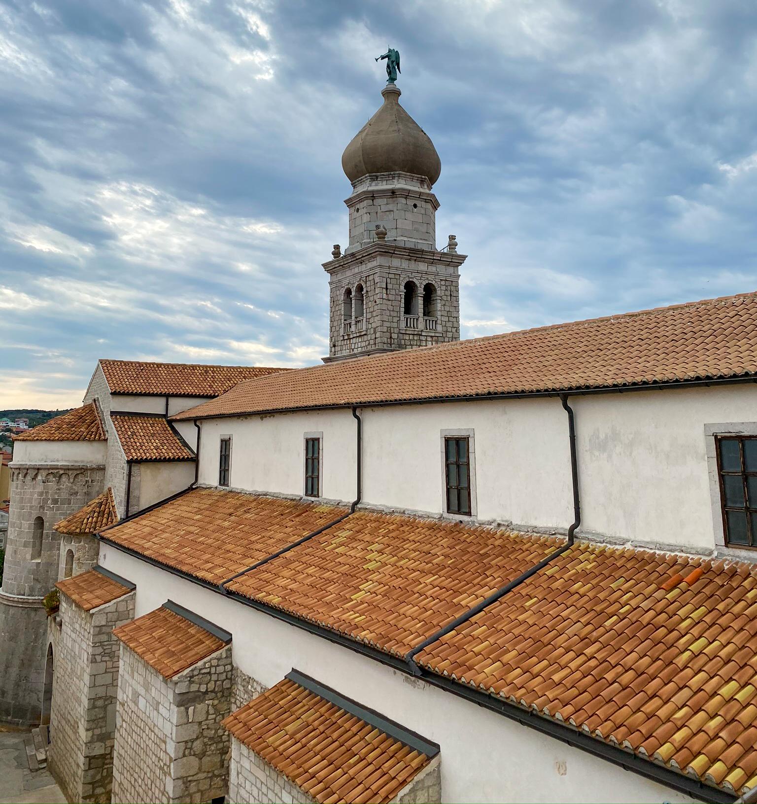 Stadt Insel Krk in Kroatien