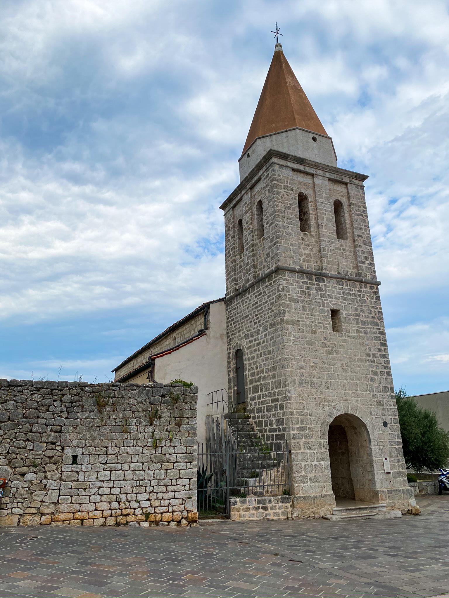 Kirche Insel Krk Kroatien