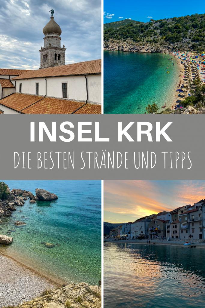 Die 5 schönsten Strände auf der Insel Krk in Kroatien und Tipps