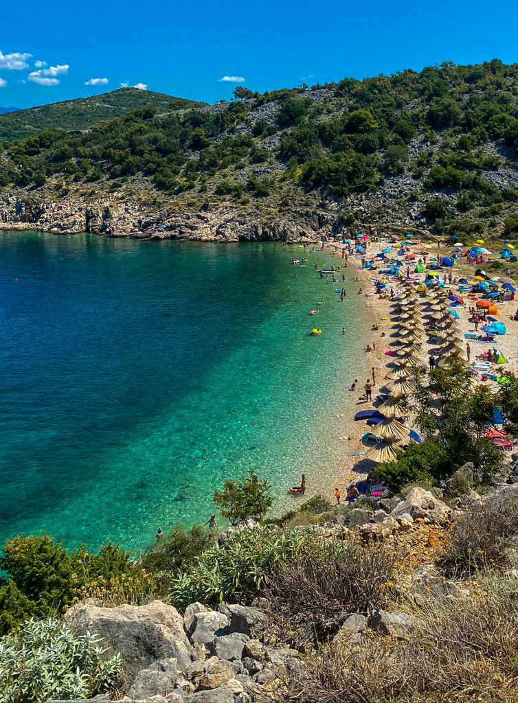 Potovosce Strand Vrbnik Insel Krk