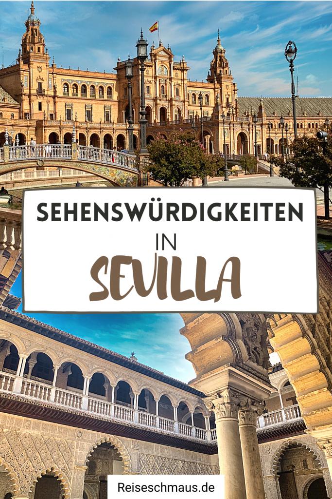 Sehenswürdigkeiten in Sevilla Pin