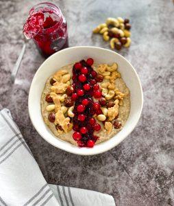 Peanbutter-Jelly-Bowl Rezept