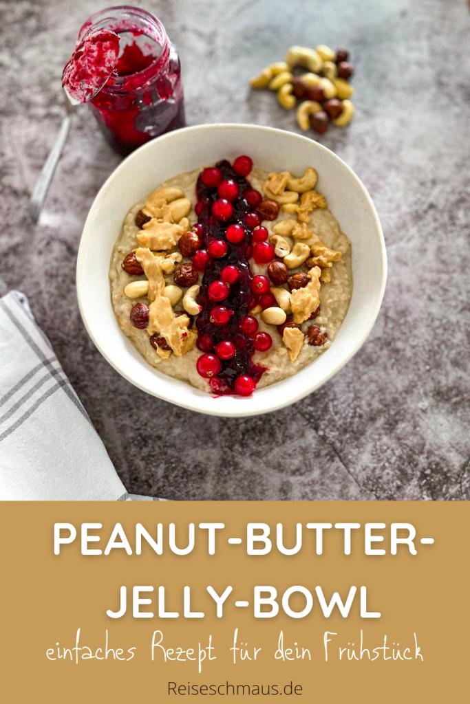Peanut-Butter-Jelly-Bowl Rezept Pin