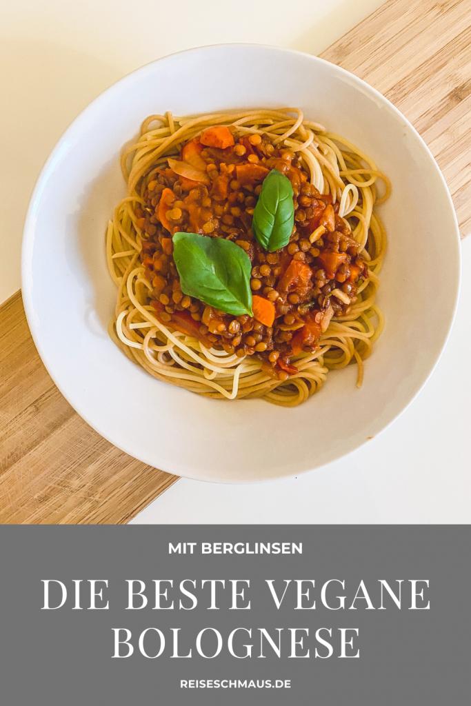 Vegane Bolognese Berglinsen Pin