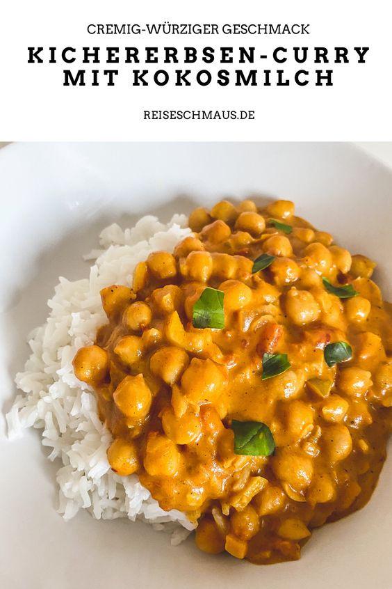 Kichererbsen-Curry mit Kokosmilch Pin