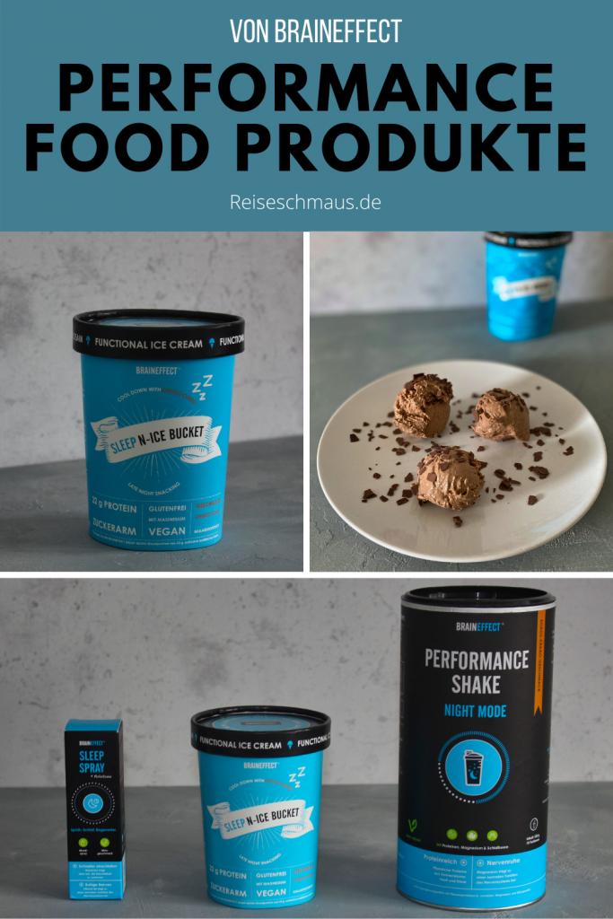 Performance Food Produkte von Braineffect Pin