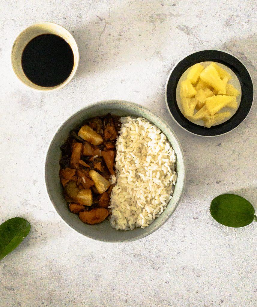Hähnchen Süß Sauer Rezept chinesisch