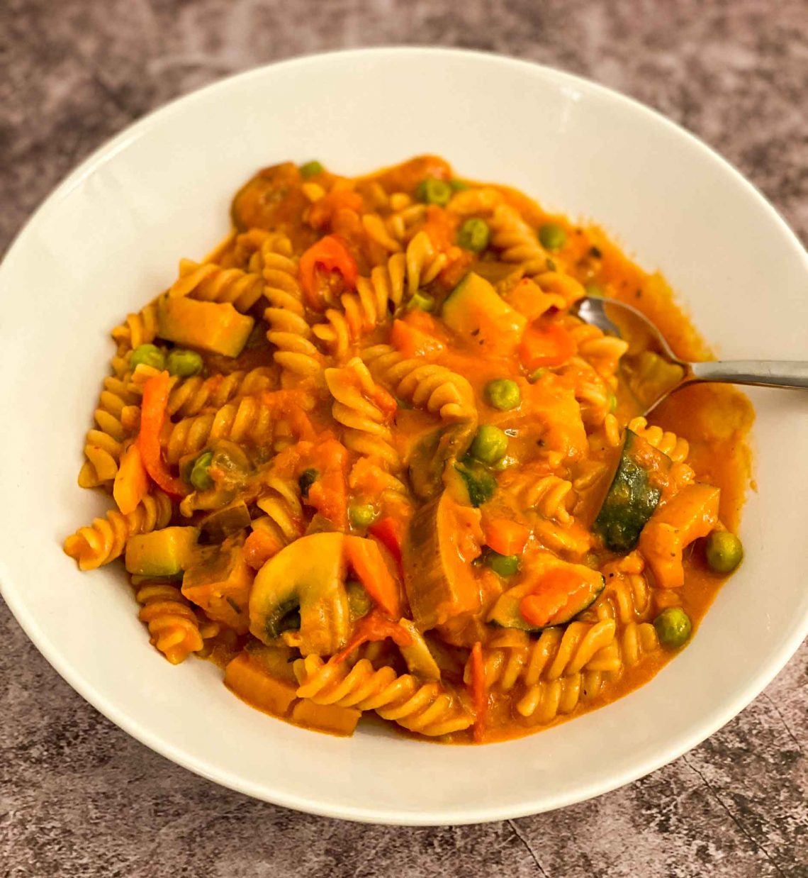 One Pot Pasta Vegan Rezept