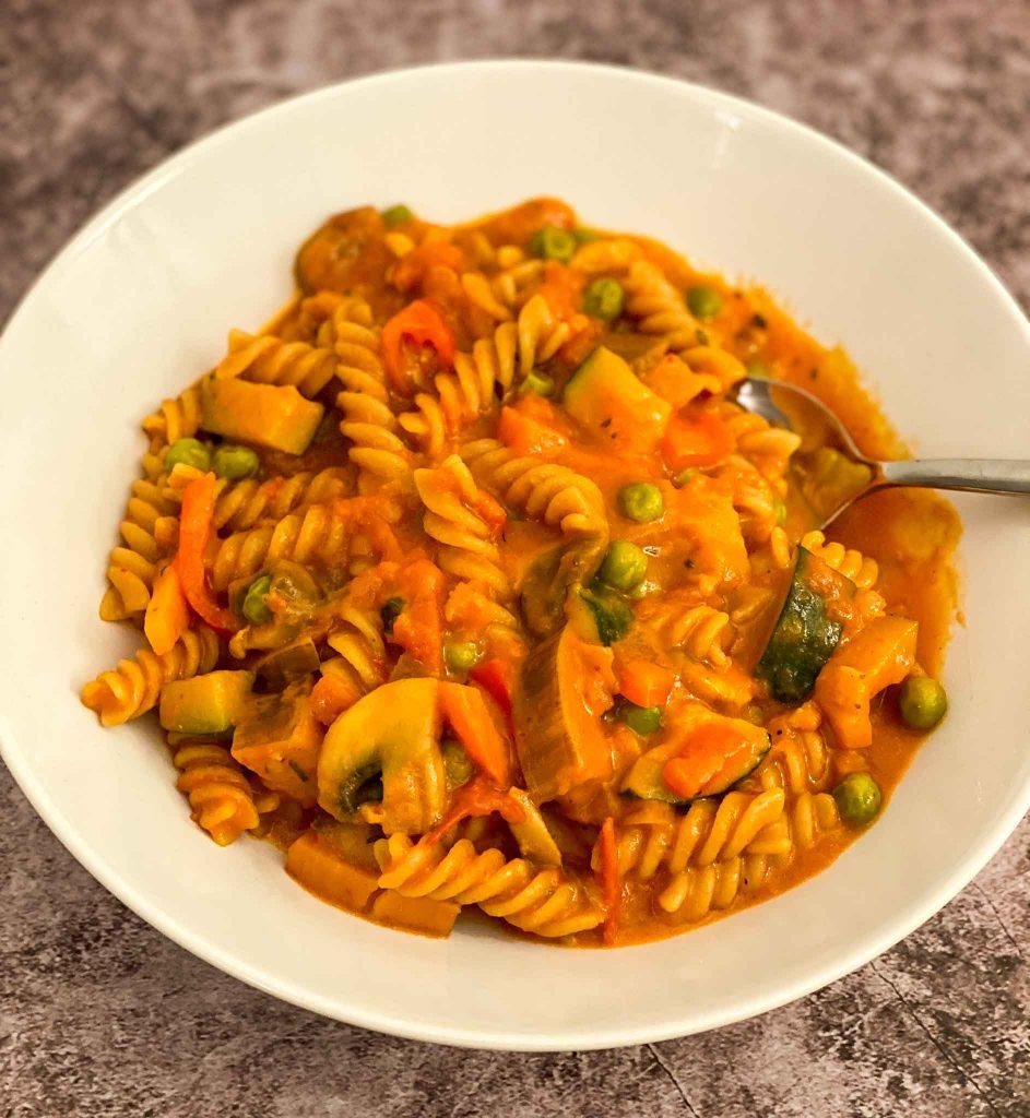 Vegane One Pot Pasta einfach lecker