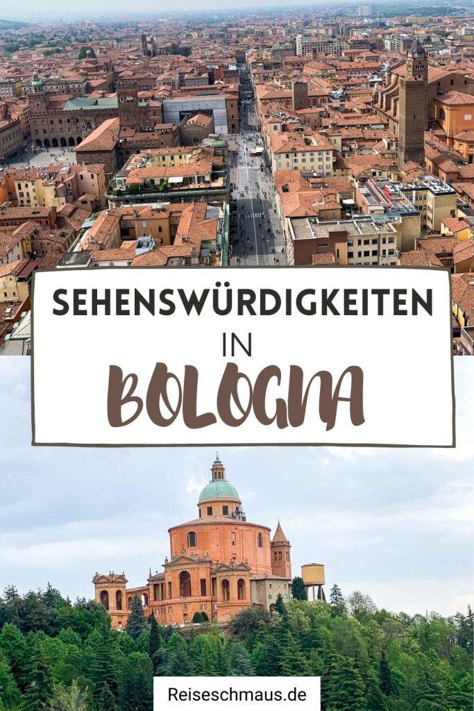 Bologna Sehenswuerdigkeiten Pin