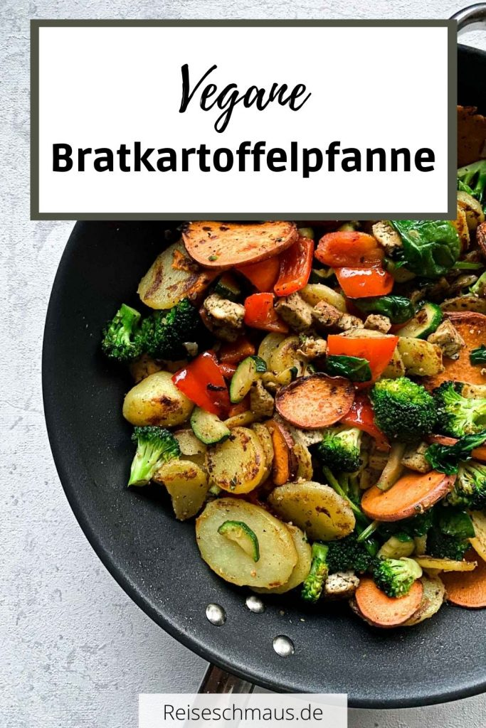 Vegane Bratkartoffelpfanne Rezept Pin