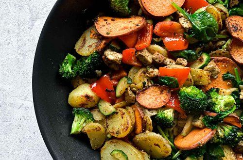 Rezept Vegane Bratkartoffelpfanne