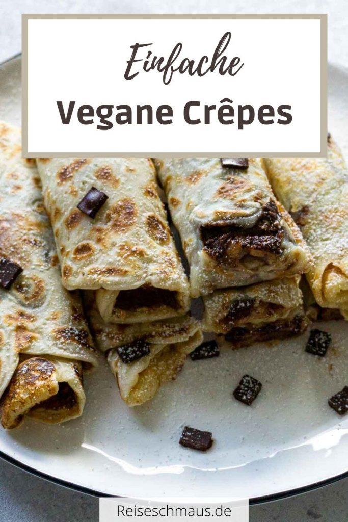 Vegane Crepes Rezept Pin