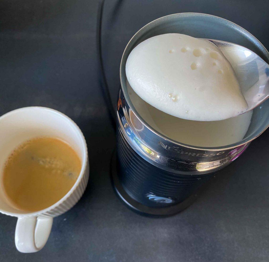 Milch aufschäumen Nespresso Aeroccino 3
