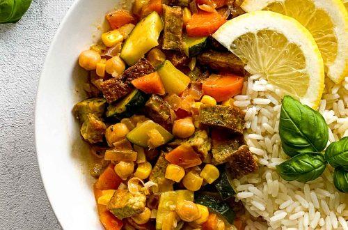 Gemuesecurry mit Kokosmilch