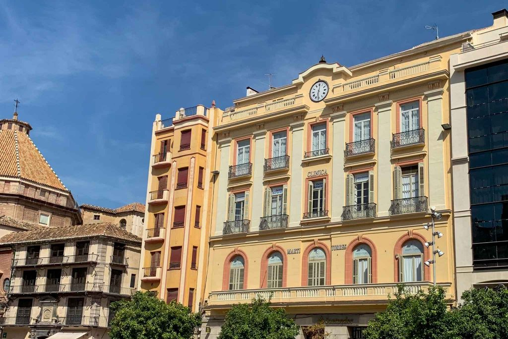 Centro Historico Malaga Spanien