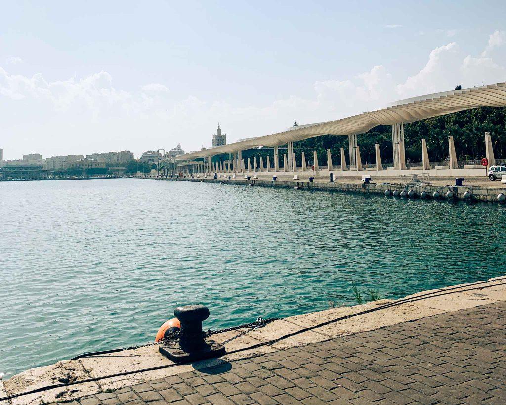 Hafenviertel Muelle Uno Malaga